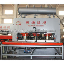 Paneles de madera laminación prensa máquina