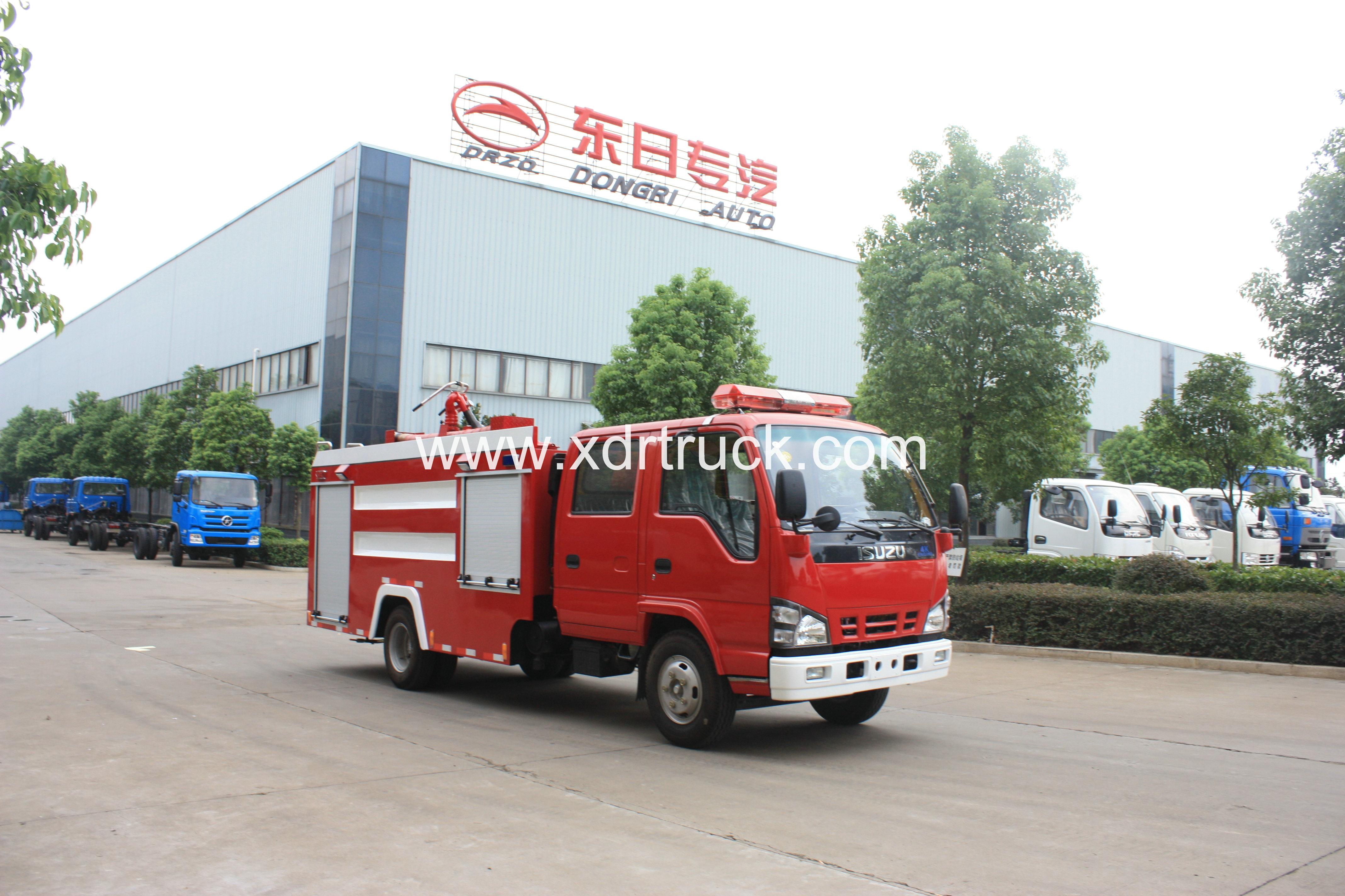 ISUZU 600P FOAM FIRE TRUCK 4TON 11  (7)
