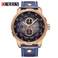 Luxury Leather Sport Wrist Watches Men