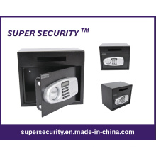 Caja fuerte de seguridad de hogar digital con ranura para depósito - negro (STB14)
