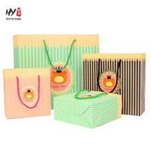 Birthday gift package with handle laminated printing bag