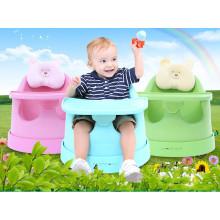 Cadeira nova do plutônio do bebê novo do projeto, bebê que janta a cadeira