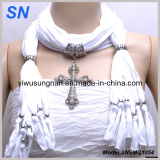 SNSMQ1054 Cross Pendant Scarf