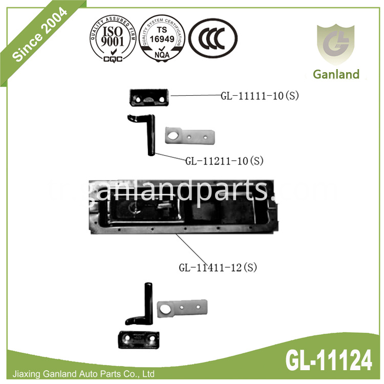 Recessed Flush Lock GL-11124