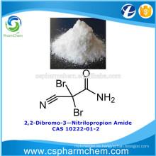 2,2-Dibromo-3-Nitrilopropion amida, CAS 10222-01-2, DBNPA para el tratamiento del agua