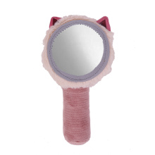 Squeez plush toy with mirror