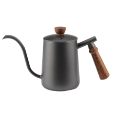 Coffee  Kettle with wooden handle