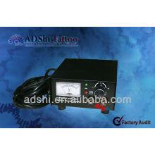 2013 ADShi de alta calidad y buena fuente de alimentación del tatuaje del calibre del funcionamiento y fuentes de energía