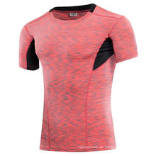 5 Farben Tight Elastic Kurzarm Herren Fitness & Sport T-Shirt