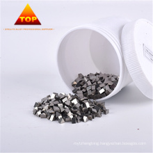 cobalt base alloy saw tips for wood cutting