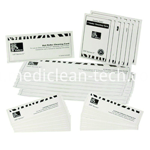 Zebra 105999-804 Retransfer Print Station & Laminator Cleaning Kit For ZXP Series Printers
