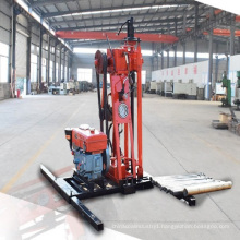 Hole portable rotary water well drill rig