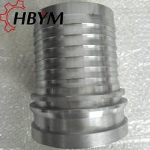 High Presure Concrete Rubber Hose Galvanized Fittings