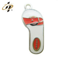 Wholesale promotion enamel casting custom metal pendant charm