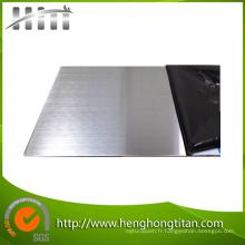 Plaque et plaque en acier inoxydable Tp316