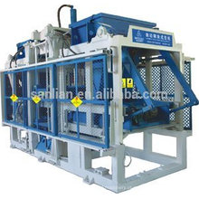 Bloco de cimento que faz o preço da máquina