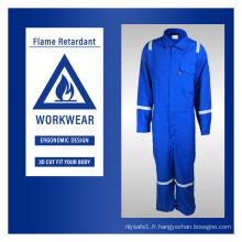 Vêtements de travail ignifuges pour la construction
