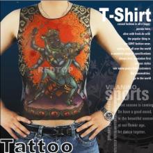 Fashion tattoo design clothing