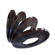 blue black heavy duty from china manufacturer metal color painted 3208mm baling oscillated steel strap for packaging