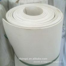 Weiße weiche PVC-Blatt-Rolle