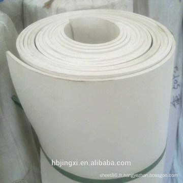 Rouleau de feuille de PVC souple blanc