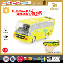 Competitive vehicle tayo bus toys price of new bus with light and music