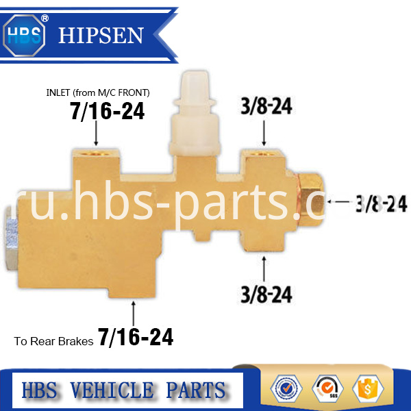 Combination Valve For Ford