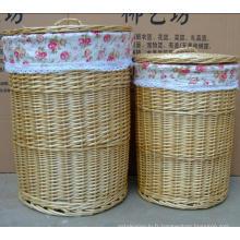 (BC-WB1022) Panier à linge / panier-cadeau naturel à la main de haute qualité