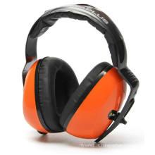 Protectores de ouvido em laranja com CE