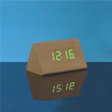 프로 모션 LED 나무 테이블 시계