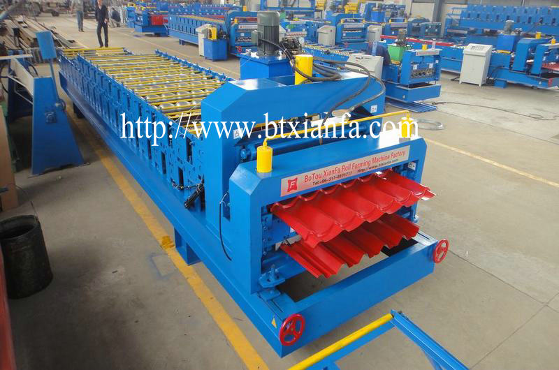 Glazing Metal Roll Forming Machine