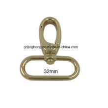 Promocional 3.2cm gancho giratorio del bolso del metal
