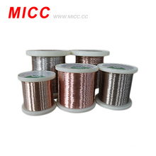 MICC 0.12mm aluminum alloy wire thermocouple bare wire