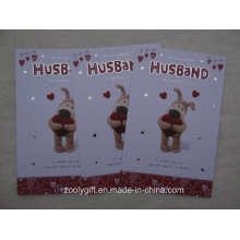 Printing Hand-Made Greeting Card with Envelop for Valentine′s Day
