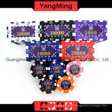Jeu de puces American Dice Poker 760PCS (YM-FMGM002)