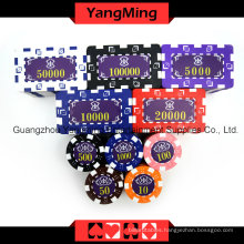 American Dice Poker Chip Set 760PCS (YM-FMGM002)