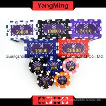 Американский набор чипов для покера Dice 760PCS (TM-FMGM002)