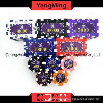 Amerikanischer Würfel Poker Chip Set 760PCS (YM-FMGM002)