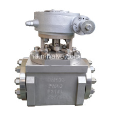 Ketahanan Abrasi Hard Seal Ball Valve