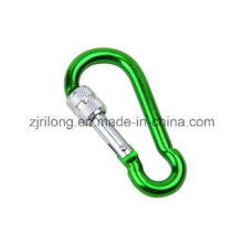 Gourd Shape Aluminum Snap Hook with Screw-Lock Dr-Z0109