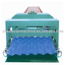 Glazed tile cold roll forming machine,tile forming machine,roof panel rolling line