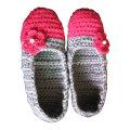 OEM Hand Made Knit Crochet Wool Slippers Socks Ballet Shoes
