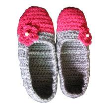 OEM Hand Made Knit Häkeln Wolle Hausschuhe Socken Ballett Schuhe