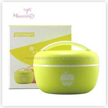 Яблоко-Образная Коробка Пищевого Пластика Ланч