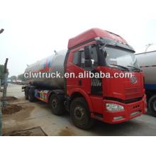 FAW J6 8x4 LPG gas tank truck