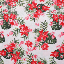 Plain Woven Challis Rayon  Printed Textile Fabric
