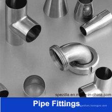 China Fabricación de accesorios de tubería hidráulica de acero inoxidable