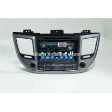 Quad-Core-Auto-GPS-Navigation mit Wireless-Rückfahrkamera, Wi-Fi, BT, Spiegel Link, DVR, SWC für Hyundai IX35 2015