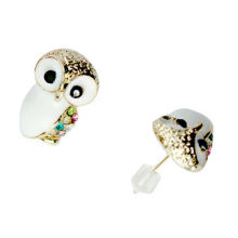 Fashion Stud Earrings, Zinc-alloy, OEM/ODM Orders are Welcome