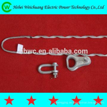 Hochwertigem Aluminium verkleidet Stahldraht oder verzinktem Stahldraht Kerl Griff Sackgasse rechts Richtung für ADSS Kabel